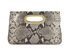 Michael Kors Berkley Clutch, Dark Sand
