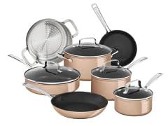 KitchenAid 11pc Non-Stick Cookware Set