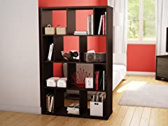 Reveal 12 Cubby Shelving  (2 Colors)
