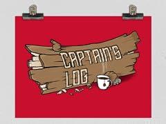 Captain's Log Poster