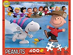 Together Time Peanuts Puzzle 400Piece