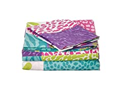 MK Home Twin Size 3pc Sheet Set
