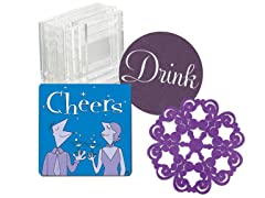 Epic Drink Coaster Variety 4-Packs (4)