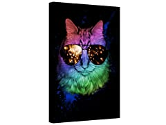 The Time is Meow Gallery Wrapped Canvas 2-Sizes