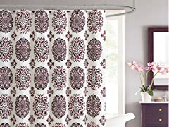 Marisol Embossed Shower Curtain