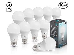 Triangle Bulbs LED 10 Pack
