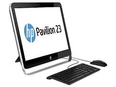 """HP Pavilion 23"""" Quad-Core AIO Desktop"""