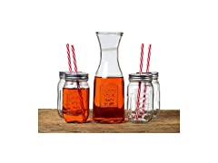 Le Regalo 5 Piece Mason Jar Set