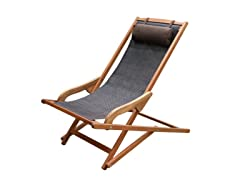 Sling Lounger with Pillow