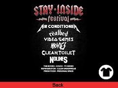 Stay-Inside Festival Back Print