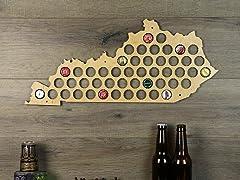 Beer Cap Map: Kentucky