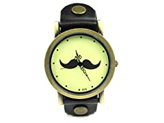 Steampunk Mustache Watch