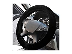 Faux Sheepskin Steering Wheel Cover