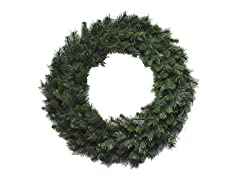 "Santa's Workshop 36"" Multi Pine Wreath"