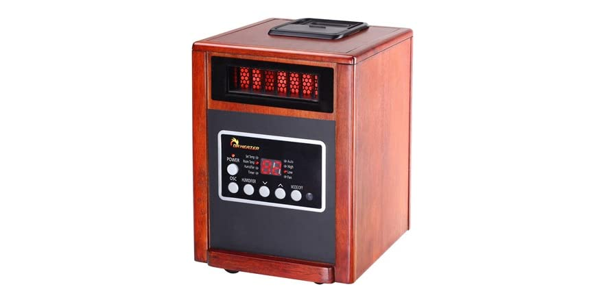 Dr infrared heater 1500w dual heater humidifier Dr infrared heater