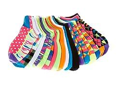 Everlast Women's No-Show Socks, 21 Pairs
