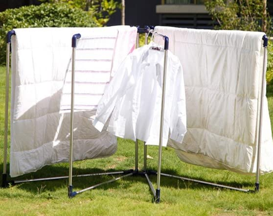 Outdoor Blanket Amp Sheets Drying Rack