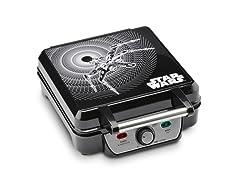 Star Wars 4-Waffle Maker, Black