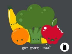 Eat more meat Unisex Tank