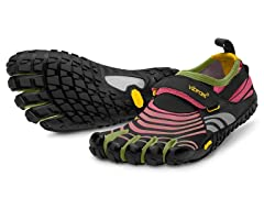 Vibram Women's Spyridon Shoes, Lilac/Grn