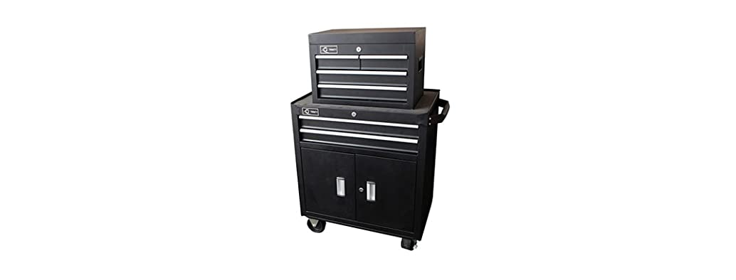 Trinity 26 in. 6-Drawer Tool Chest, Black