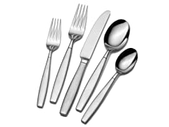 42pc Forged Flatware Set-Gia