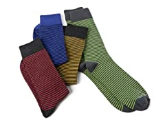 Assorted Men's Socks 4-Pack