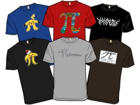 Tees for Pi Day!