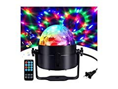 COIDEA Disco Ball Party Lights w/ Remote