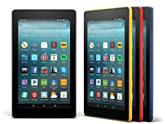 "Amazon Fire 7"" (2017) Wi-Fi Tablets"