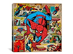 Spider-Man on Spider-Man Covers & Panels Square