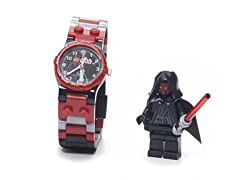 Star Wars Darth Maul Watch w/Minifigure