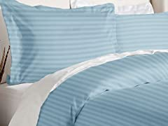 Duvet Cover Set-Light Blue-2 Sizes