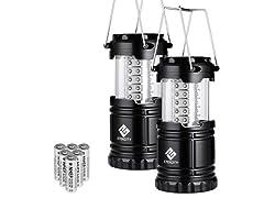 Etekcity LED Camping Lantern (2-Pack)