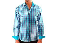Lucky Luciano Captain Slim Fit Casual Shirt