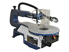 RIKON 16-Inch Variable Speed Scroll Saw with Light