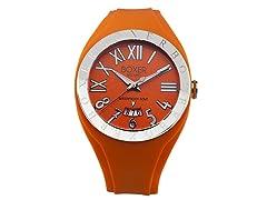 Men's BOX 40 ORANGE Orange Dial Watch