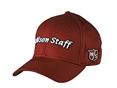 Wilson TOUR L/XL Hat - Red