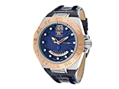 Subaqua - Blue Dial / Blue Leather