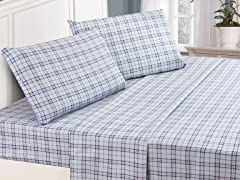 Lullabi Microfiber Flannel Sheet Set