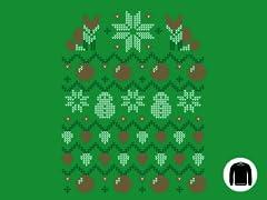 Ugly Holiday Sweater 2013 Crewneck Sweatshirt