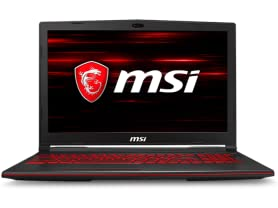"MSI 15.6"" GL63 8RD Gaming Laptop"
