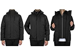Presidential Jackets W Detachable Hood