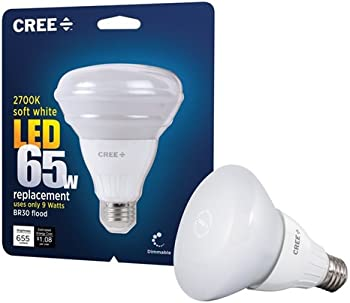 12-Pk. CREE Dimmable LED Flood Light Bulbs 9-Watt