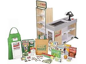 Melissa & Doug Pretend Play Fresh Mart Grocery Store