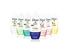 Dove Roll Anti Perspirant Variety, 6-Pack
