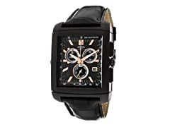 Men's Black/Black Chronograph