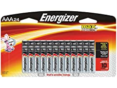 Energizer AAA Batteries (24 Count)