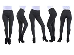 Women's Ponte Stretch Fit Legging Pants