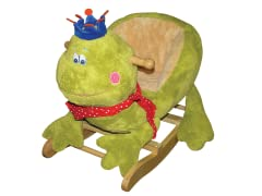 Frog with Crown Rocker